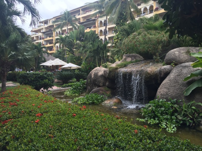 Spirit retreat 2016 Puerto Vallarta Velas Vallarta's lovely grounds