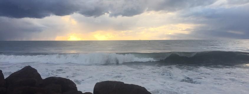 Spirit retreat 2016 Puerto Vallarta sunset from the boardwalk of the city